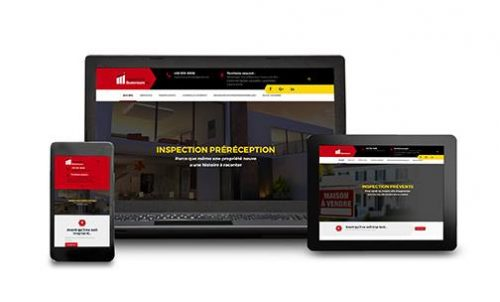 Inspection Summum inc. - Site Internet